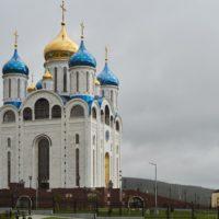 Изготовление куполов на Кафедральный собор Рождества Христова в г. Южно-Сахалинске.