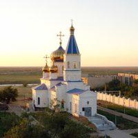 Изготовление куполов на Храм Георгия Победоносца. г. Байконур