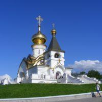 Изготовление куполов на Храм прп.Серафима Саровского в г. Хабаровске.