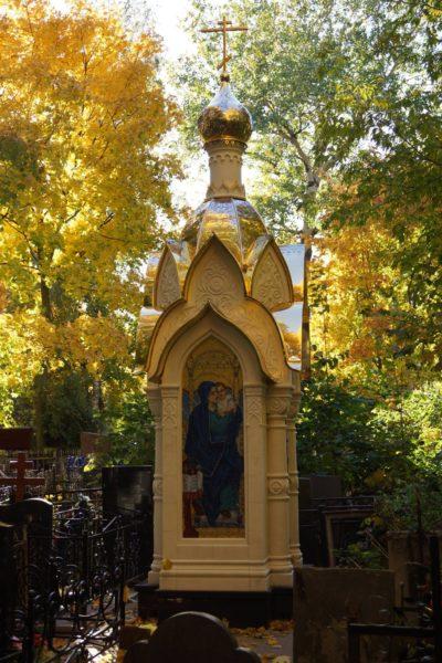 изготовление куполов на Часовню на Даниловском кладбище