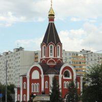 Изготовление куполов на Храм Всех Святых, в земле Российской просиявших. Москва