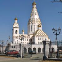 Изготовление куполов на Храм-памятник в честь Всех святых в Минске