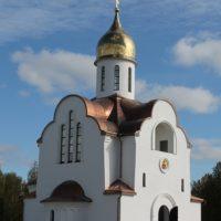 Изготовление куполов на Храм во имя святого благоверного князя Александра Невского в п. Алабино Московской области