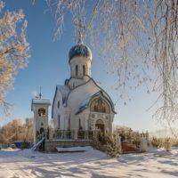 Изготовление куполов на Храм Рождества Пресвятой Богородицы села Говорово Московской области