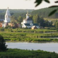Изготовление куполов на Свято–Троицкий Островоозерский монастырь в с. Ворсма Нижегородской области летом