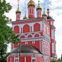 Изготовление куполов на Храм Бориса и Глеба в Боровске Калужской области