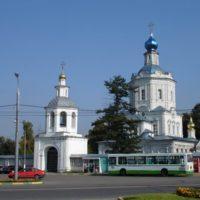 Изготовлены Купола и кресты на Успенском Храме в г. Видное Московская обл.
