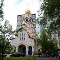 Изготовление куполов на Храм Новомучеников и Исповедников Российских в Строгино. г. Москва