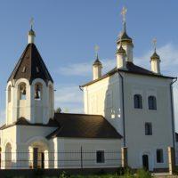 Изготовлены Купола и кресты на Церкви Троицы Живоначальной в с Лужки Московской обл.