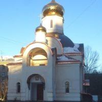 Изготовлены Купола на Храме в честь Святых царственных страстотерпцев в г. Москве, в 6-й Новоподмосковном пер.