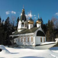 Изготовление куполов на Церковь близ д/о Плесково. Подмосковье, Подольский р-н
