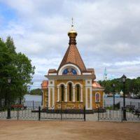 Изготовление куполов для Часовни святой Ксении Петербургской на Валааме