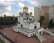 Изготовление куполов на Храм Живоначальной Троицы. г.Реутов Московской области