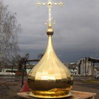Изготовление куполов, главка с крестом для Храма прп. Сергия Радонежского в Йоханнесбурге. Южно-Африканская республика