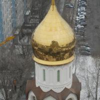 Изготовление куполов для Храма Новомучеников и Исповедников Российских в Строгино. г. Москва