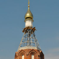 Изготовление куполов, глава на Храме Святой Мученицы Татианы Римской. Москва