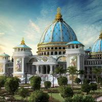 Изготовление куполов на Храм Ведического Планетария. г. Маяпур, Индия