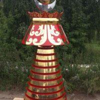 """Изготовление куполов для Декоративное навершие Буддистского храма """"Ступа"""""""