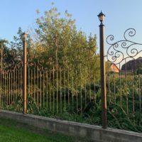 Забор, частный дом д.Нижнее Мячково Московской области