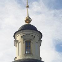 Крест с шпилем с покрытием золотом для Часовни Святой Благоверной Тамары в д.Аносино