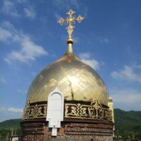 Изготовление купола с гальваническим золочением в Храм Иоанна воина