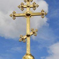 Изготовлен Крест для часовни св. Блаженной Ксении Петербургской Спасо-Преображенского Валаамского монастыря
