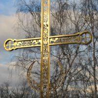 Изготовление креста для Свято-Преображенского Подворья Данилова ставропигиального мужского монастыря в Московской области