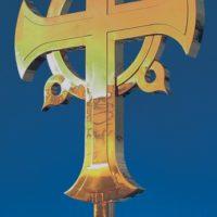 Изготовление креста для Храма Покрова Пресвятой Богородицы на Городне г. Москвы