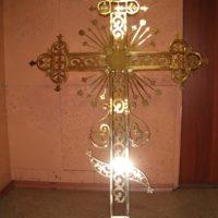 Изготовлен Золотой крест Троицкой церкви, МО, Серпуховского р-на, с. Лужки