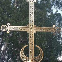 Изготовлен Крест для Храма Новомучеников и Исповедников Российских в г. Москве на Строгинском бульваре