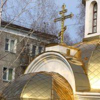 Изготовление Креста из нержавеющей стали с напылением нитридом титана под цвет золота
