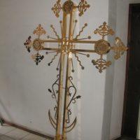 Изготовление Золотого креста, гальваническое золочение.