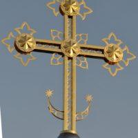 Изготовлен Крест для Храма в Магадане