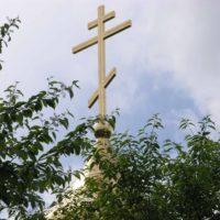 Изготовлен Крест Храма-Часовни Георгия Победоносца в п. Медвежие Озера