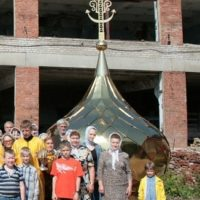 Изготовлены Кресты Крестовоздвиженского Храма в Орехово-Зуево