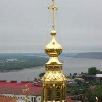 Изготовлены Кресты на Свято-Софийском кафедральном Соборе в г. Тобольске