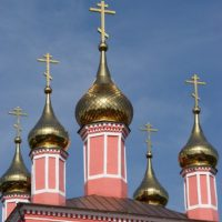 Изготовление Куполов и крестов на Храме Бориса и Глеба в Боровске Калужской области