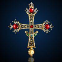 Изготовлен Крест царского места Кафедрального собора Рождества Христова в г. Южно-Сахалинске