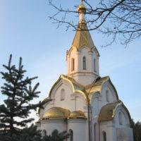 Сложная кровля на Храме Воскресения Христова в Катыни Смоленской обл.