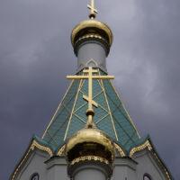 """Изготовление шатров и шпилей, Шатровая кровля Храм """"Всех святых"""" г. Страсбург (Франция)"""