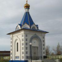 Шатер с барабаном и куполом на часовне. Гжель, Московская обл.