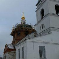 Реставрация кровли храма
