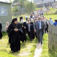 Празднование 590-летия Варзуги и установление «Золотого Креста Варзуги» на месте первого на Кольской земле русского поселения.