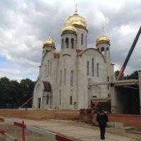 Устройство кровли на здании Храма в г. Москва, на ул. Кетчерской, вл.2
