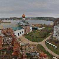 Восстановление Свято–Троицкого Островоозерского монастыря