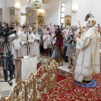 Освящение Храма Живоначальной Троицы. г.Реутов Московской области
