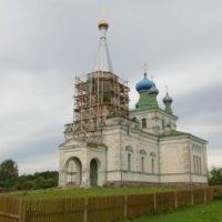 Восстановление Церкви Вознесения Господня. Вецслабада, Лудзенский край, Латвия