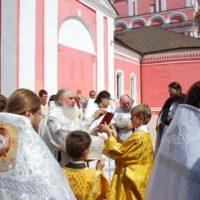 Освящение Храма Бориса и Глеба в Боровске Калужской области