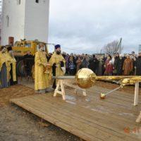 Освящение креста Храма Рождества Пресвятой Богородицы села Говорово Московской области
