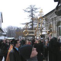 Воздвижение Крестов на Успенском Храме в г. Видное Московская обл.